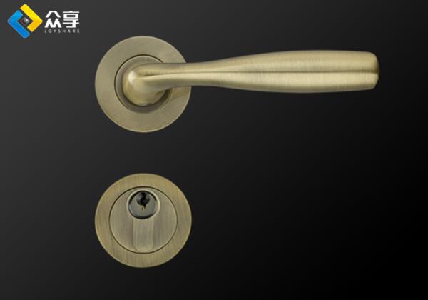 犀牛圆分体式门锁